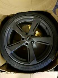 Vauxhall/ bmw alloy wheels with tyres