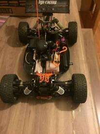 Hpi trophy nitro rc buggy