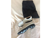 New Cotswold Ladies Golf Shoes - Size 4 1/2 c/w carrying bag