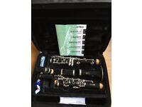 Yamaha clarinet YCL 250