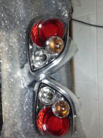 Peugeot 206 parts , spoiler , exhaust , Lexus lights and wind deflectors