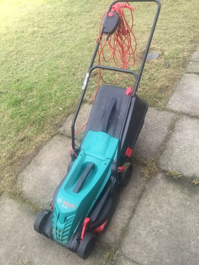 BOSCH LAWNMOWER AND BOSCH STRIMMERin Coatbridge, North LanarkshireGumtree - BOSCH LAWN MOWER IN GOOD WORKING ORDER I cut through the wire the first time I used it but its been fixed and has electrical tape covering the join (see pic) BOSCH STRIMMER in full working order Looking for £30 for both for a quick sale or make me...