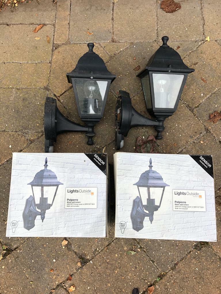 4 X Exterior Lights Motion Sensors In Duffield Derbyshire Gumtree