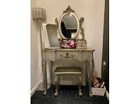Dunelm Toulouse Silver Dressing Table Set - £70