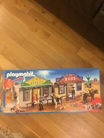 Playmobil western city