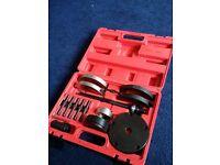 VW wheel bearing extractor