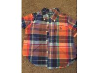 Two boys Ralph Lauren tops bundle