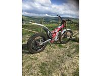 2017 GasGas pro racing txt trials bike