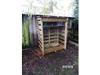 log /wood /bin store