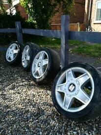"""Seat, vw, audi 16"""" alloys alloy wheels"""