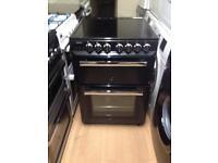 Rangemaster Black 60cm electric cooker