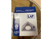 Led triangle downlighting new and boxed £15 the pair Bh91sh area