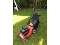 Mountfield petrol lawnmower.