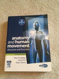 Anatomy and Human Movement Textbook