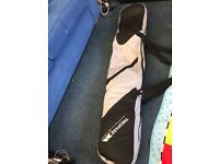 148cm length Duotone ladies snowboard, bindings, boots and carry bag