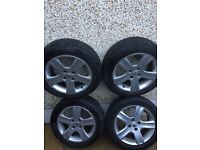 Peugeot 307 306 206 Citroen 16 inch alloy wheels and tyres