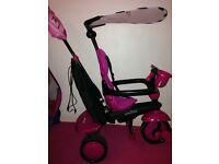Pink flamingo smart trike 4 in 1