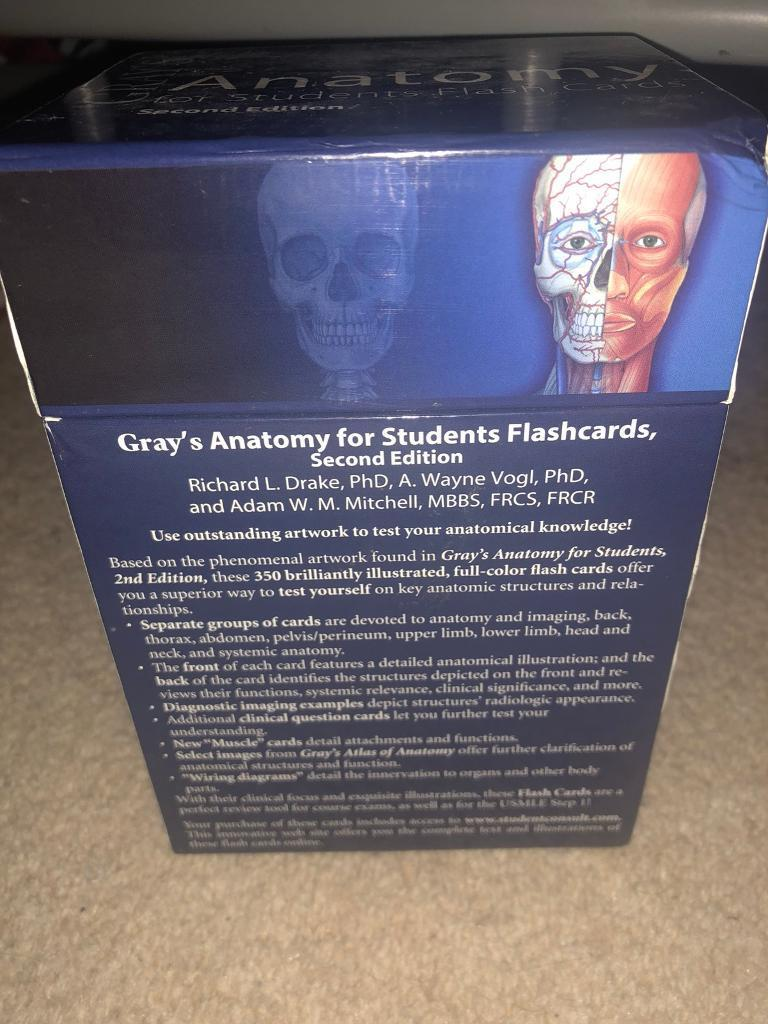Magnificent Grays Anatomy Flash Cards Photos Anatomy And