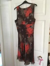 Ladies mid-calf length dress