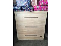 Mamas & papas chest draws - used