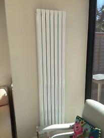 Mild steel vertical radiator double panel (new in box) 1800mm x 406mm BTU 7818