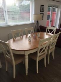 Dining Table, 6 Chairs and Sideboard £1000 o.n.o