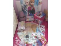 Disney frozen duvets, curtains, rug, canvas pic and more