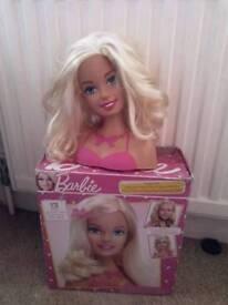 Barbie styling head girls toy