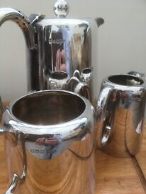 Coffee set - silver plated or could be silver ( check photos )
