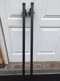Pair of roof bars to fit Mercedes C Class Mk2