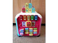 *RESERVED*Pink vtech discovery cube
