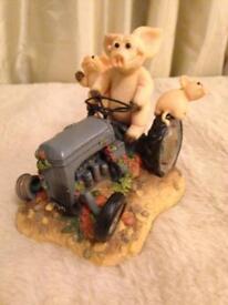 Piggin' Test Drive collectable ornaments