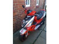 For sale tgb scooter full years test 63reg
