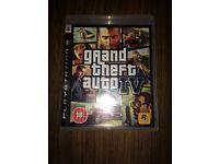PS3 GTA 4 Game