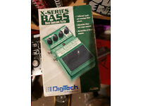 Digitech x series bass envelope filter