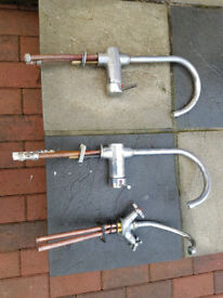 For sale used 3 kitchen taps.