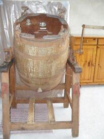 Old milk churn