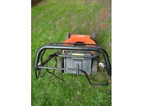 A Used AL-KO 18inch Wide Rolling Mower Body-NO ENGINE-Ideal if yours has rusted