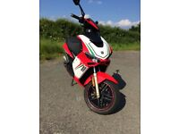 Neco GPX-50 17 plate scooter/moped