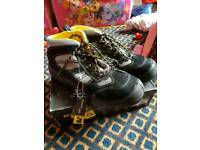 Amblers safety work boots, size 12