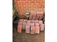 Marley plain red roof tiles