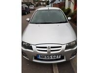 MG ZR, 55 plate, Silver
