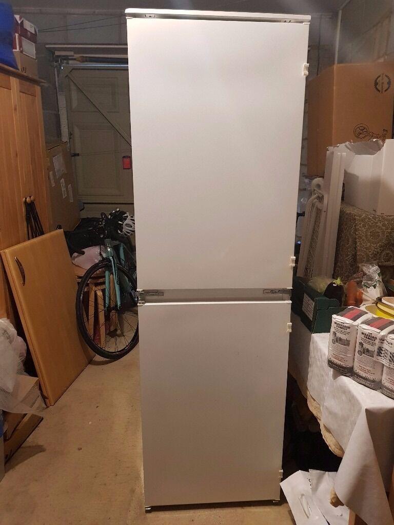 Used Zanussi Build-in Fridge Freezer