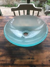 Frosted Washbowl / Sink