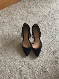 Head over heels by dune shoes size 6