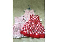 Baby girl dresses - 6-9 months