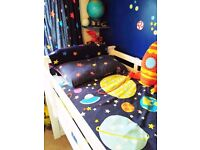 Kids Space Theme Bedding, Curtains and Toys