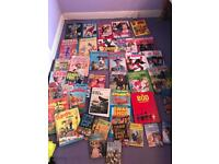 Large bundle of vintage annuals / yearbooks