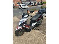 KYMCO SUPER 8 125cc SCOOTER 2017