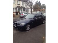 Bmw 3 series 2 litre manual 125 k miles full leather seat with navigation for sale